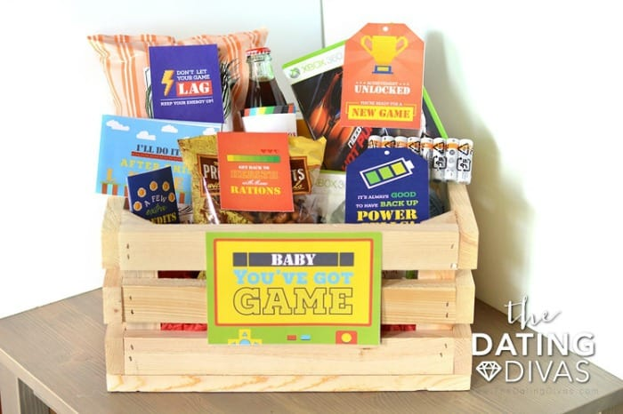 Gift Basket for Video Game Lovers
