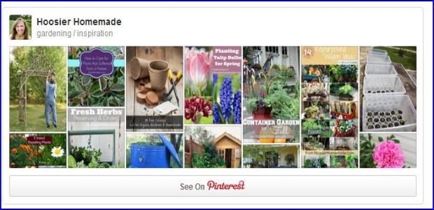 Gardening Pinterest Board