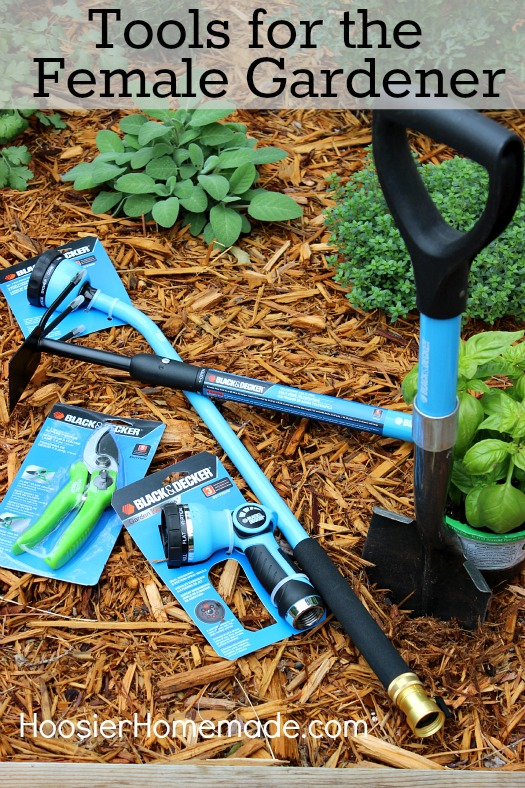 Tools for the Female Gardener :: HoosierHomemade.com
