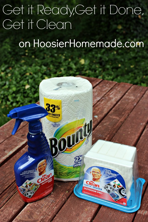 Get it Ready, Get it Done, Get it Clean on HoosierHomemade.com