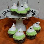 Ghost Cupcakes - October 2012
