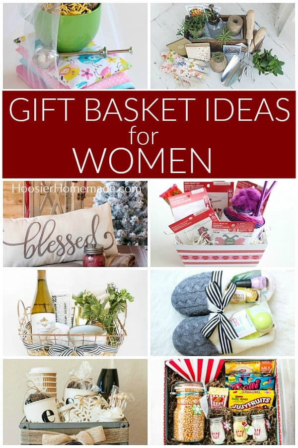 Gift Baskets Ideas for Women