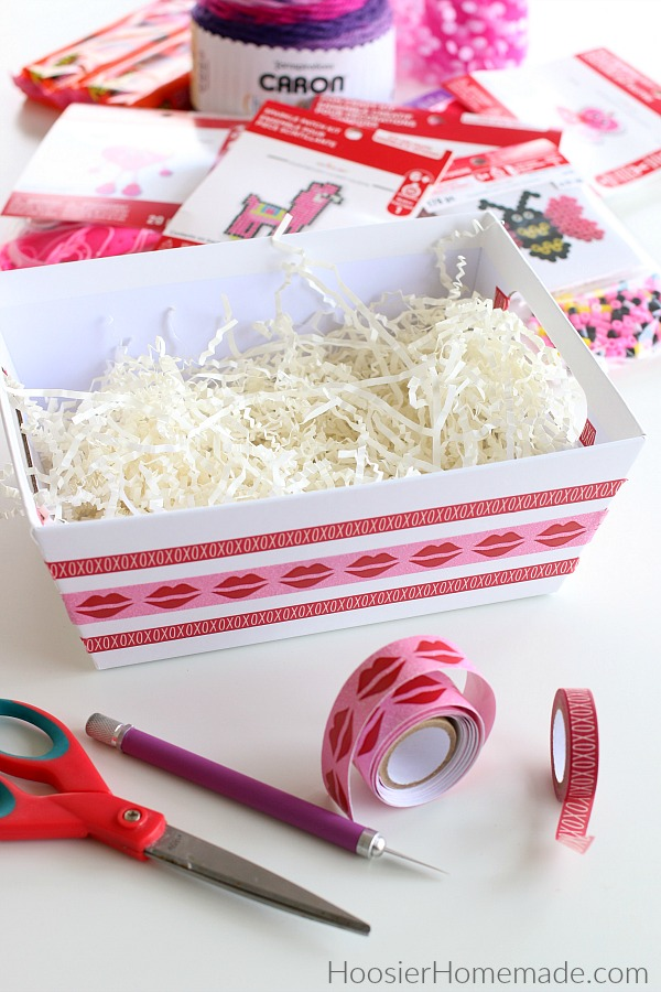 Decorate a Gift Basket