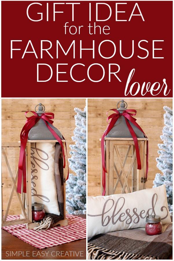 Gift Idea for the Farmhouse Decor Lover