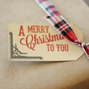 Printable Christmas Gift Tags :: HoosierHomemade.com