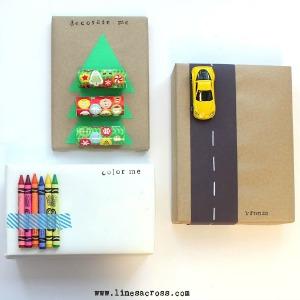 Unusual Handmade Gift Wrap :: HoosierHomemade.com