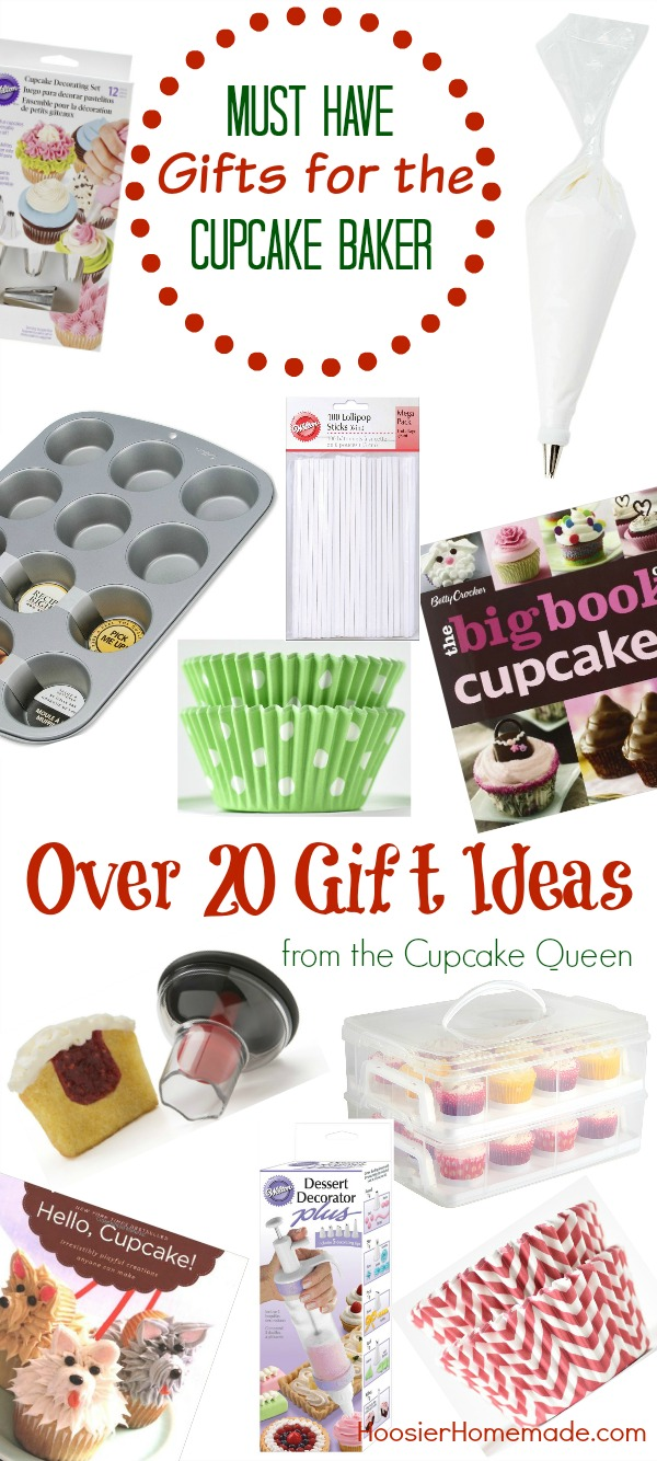 Do you have a Cupcake Baker in your life? Maybe that's YOU! These MUST HAVE Gifts for the Cupcake Baker are sure to put a smile on that cupcake lovers face! From cupcake cookbooks - to liners - to carriers - we have you covered! There is no more guessing!