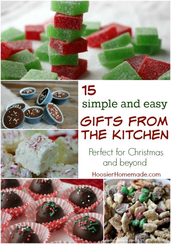 Homemade christmas recipe gifts
