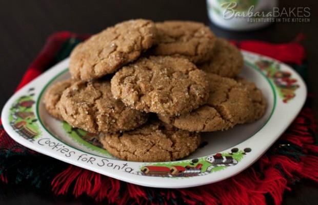 Soft Ginger Snap Cookies: Christmas Cookie Exchange - Hoosier Homemade