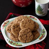 Soft Ginger Snap Cookies: Christmas Cookie Exchange
