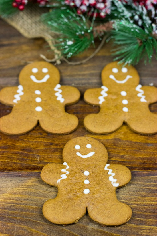 Gingerbread Cookies Recipe | 100 Days of Homemade Holiday Inspiration