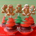 Gingerbread Cupcakes.2