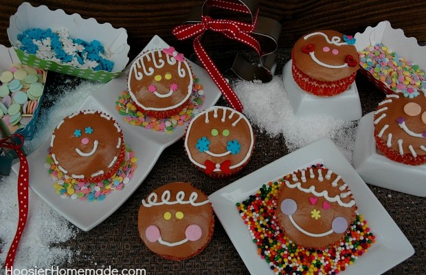 Gingerbread Boys & Girls Cupcakes : 100 Days of Homemade Holiday Inspiration