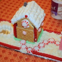 How to make Gingerbread Houses with Young Children :: HoosierHomemade.com