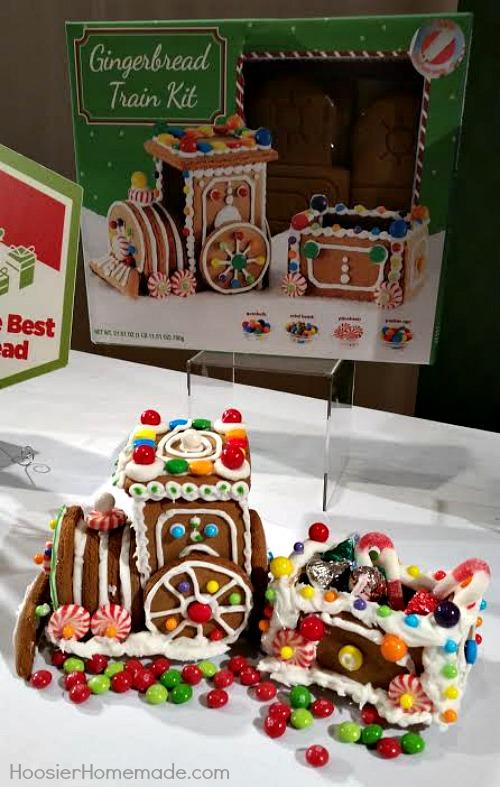 Gingerbread Train Kit