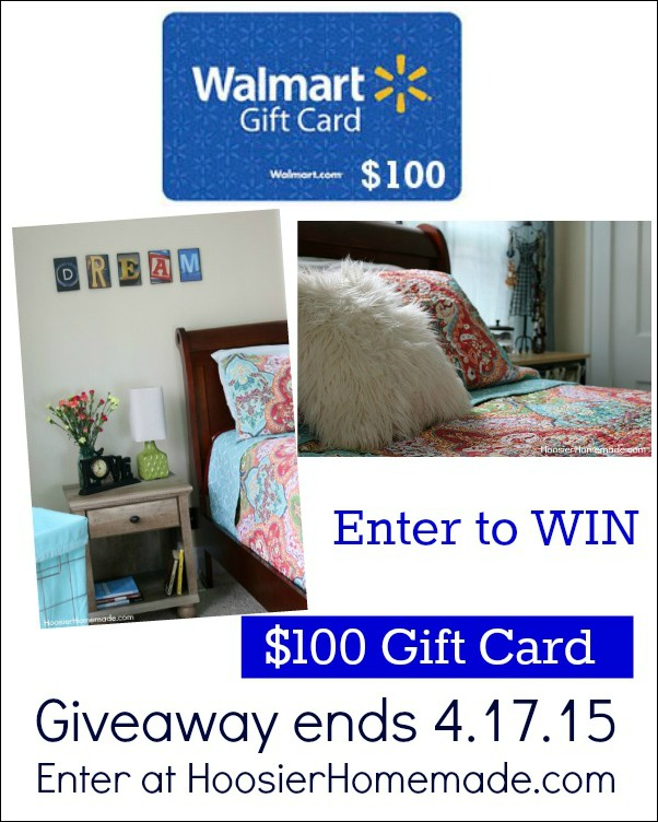 Enter to win $100 Walmart Gift Card