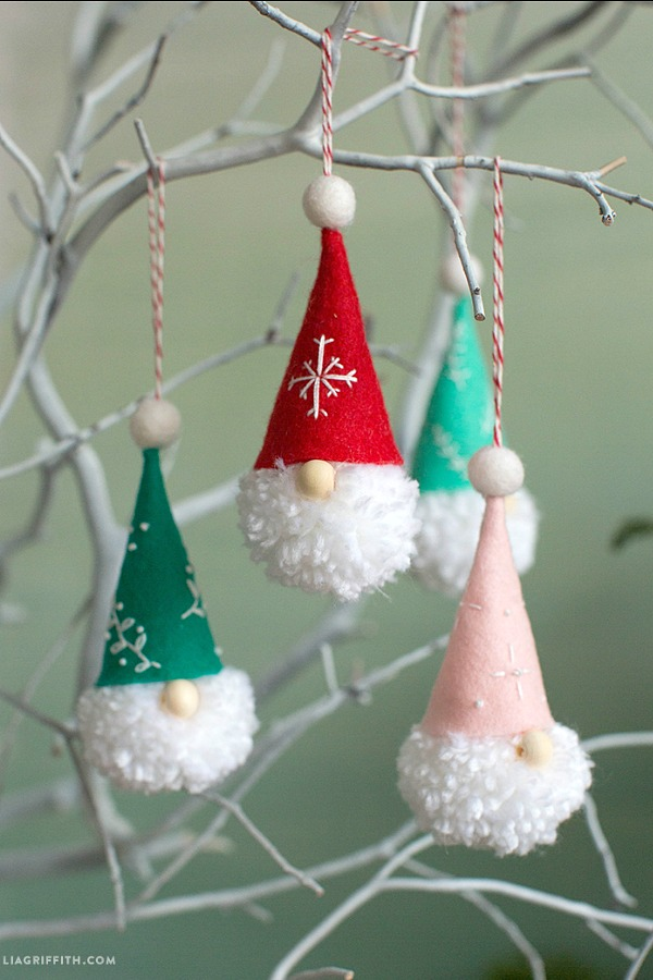 DIY Gnome Ornaments: Holiday Inspiration - Hoosier Homemade