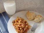 Weekly Menu Plan~Goulash & Italian Biscuits