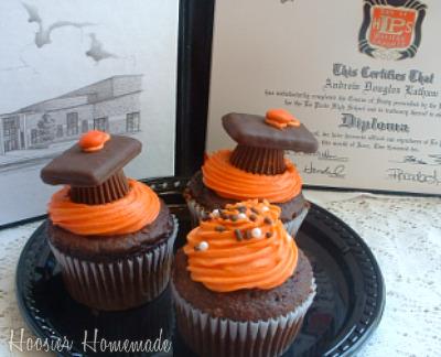 Cupcake Tuesday Graduation Cupcakes Hoosier Homemade