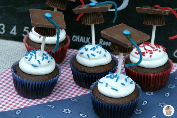 graduation cap cupcakes hoosier homemade