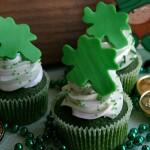 Green Velvet Cupcakes - March 2012
