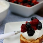 Grilled Pound Cake With Fresh Fruit