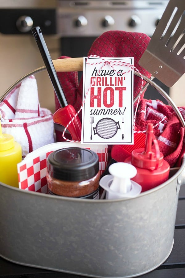 Grilling Gift Caddy
