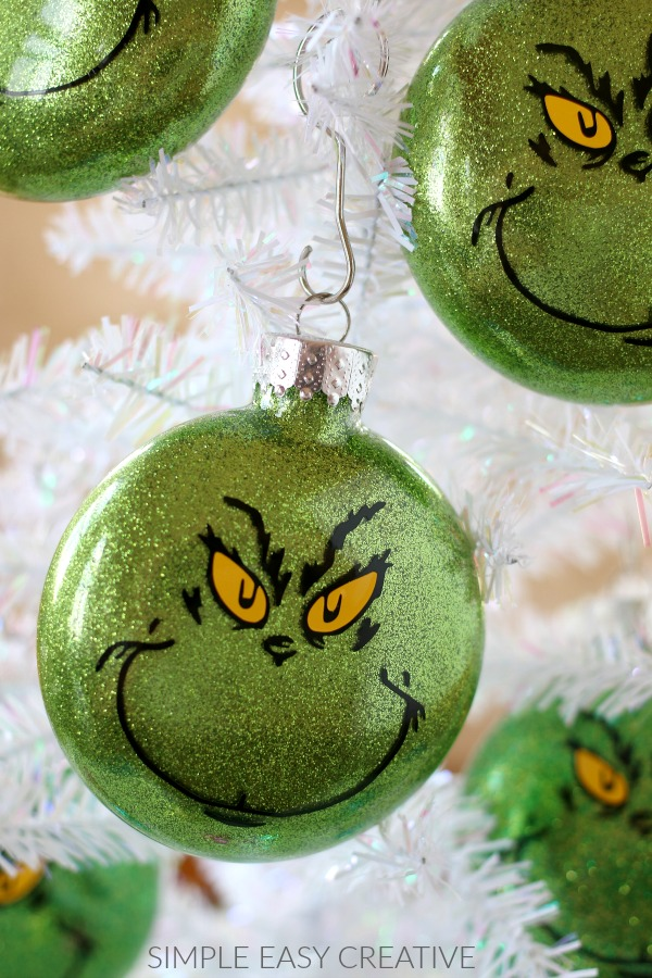 Christmas Grinch Decorations.Grinch Ornaments Hoosier Homemade