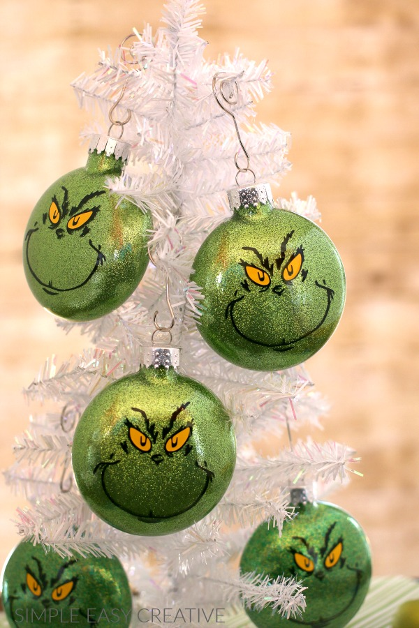 Grinch Christmas Ornaments