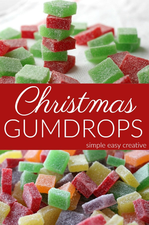 Christmas Gumdrops Recipe