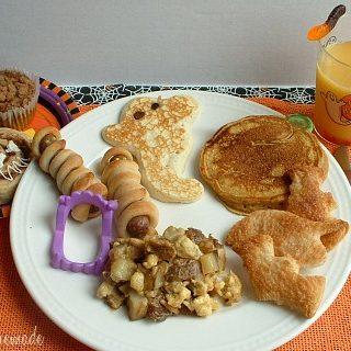 Ghost Pancakes Recipe