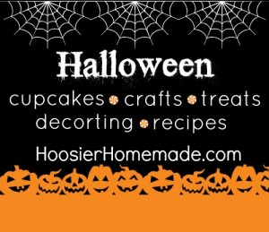 Halloween Cupcakes, Crafts, Decorating and More on HoosierHomemade.com