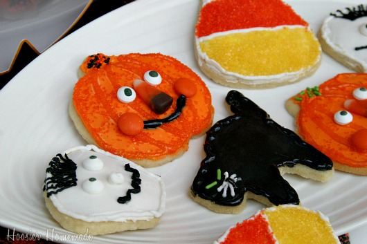 halloween sugar cookies hoosier homemade