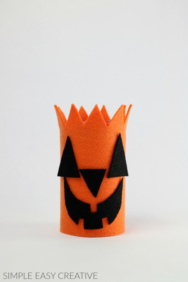 Jack o' Lantern Treat Can
