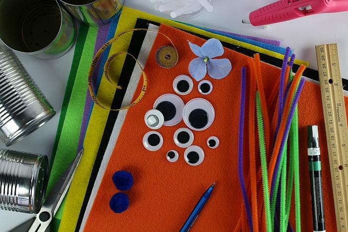 Halloween Crafts Supplies