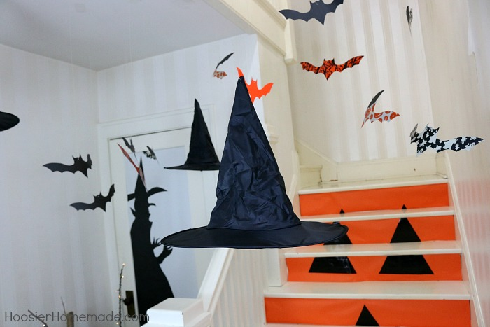 how to make hanging bats for halloween - Halloween Hanging Decorations