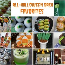 Halloween Favorites collage