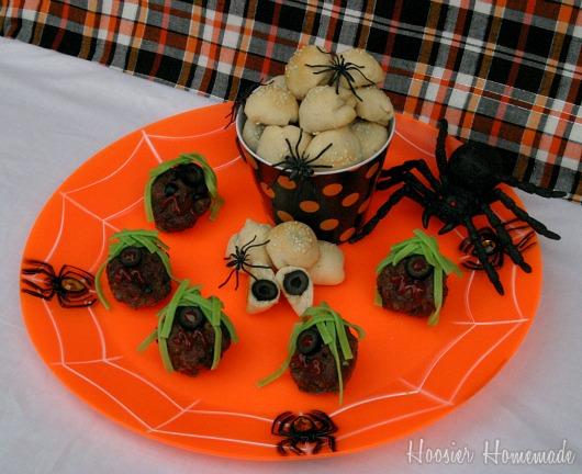 you - Scary Halloween Meatballs