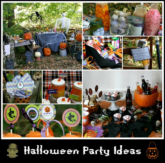 Halloween food cupcakes treats decorating and more Halloween party decorations ideas homemade