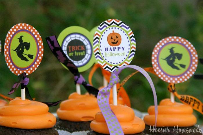 Halloween Cupcakes Decorating Ideas