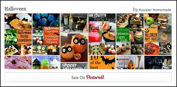 Halloween Pinterest Board: HoosierHomemade.com