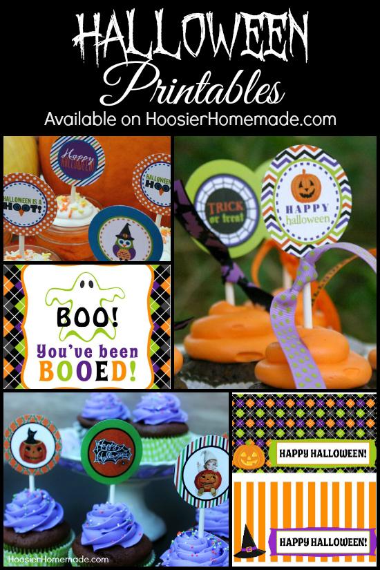 FREE Halloween Printables | Available on HoosierHomemade.com