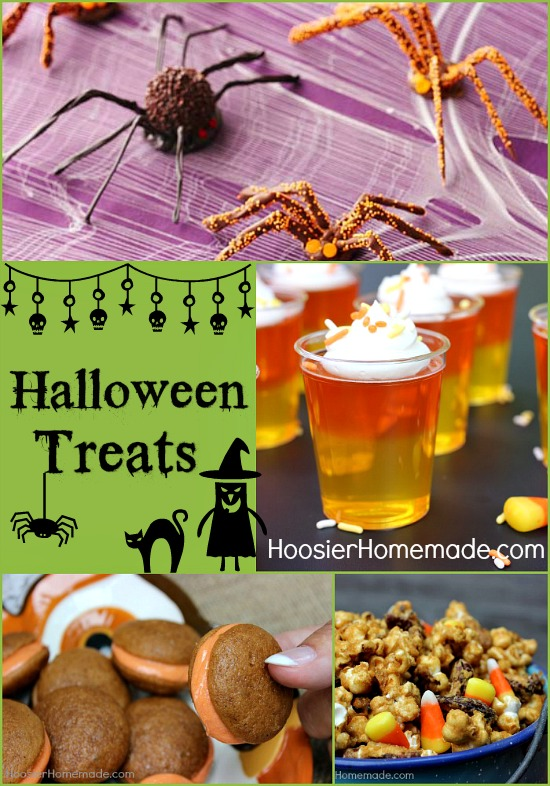 Halloween Treats for a Party, Pumpkin Recipes and Recipes for Leftover Candy :: HoosierHomemade.com
