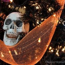 Halloween Tree | Details on HoosierHomemade.com