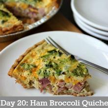 Ham-Broccoli-Quiche-Day20