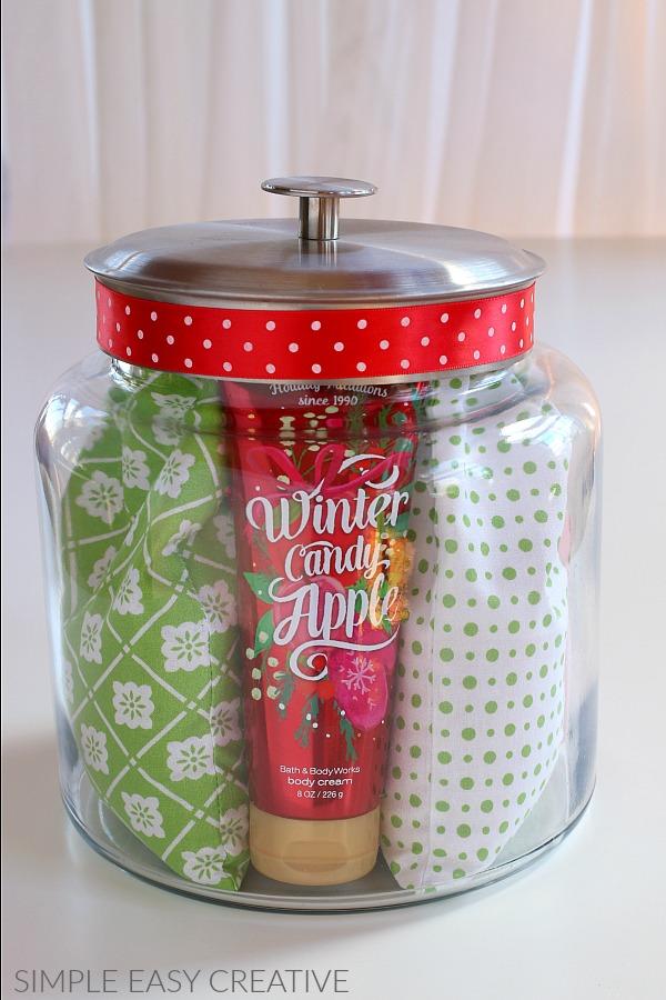 handmade gift ideas in a jar