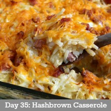 Hashbrown Casserole.day 35