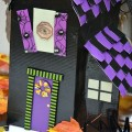 How to make a Haunted House with Duck Tape Tutorial on HoosierHomemade.com