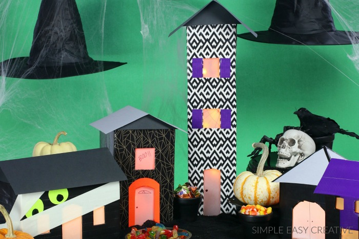 DIY Haunted House Craft