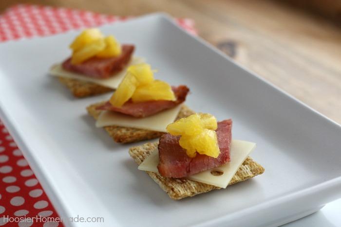 Hawaiian Triscuit Snack